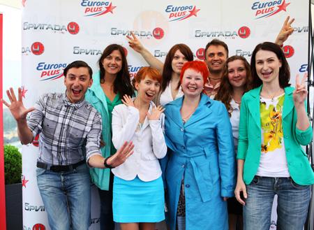 OnAir.ru - «Крыша Смита» на Европе Плюс: еще ближе к звездам!