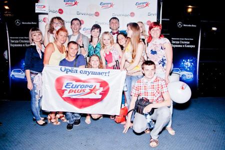 OnAir.ru - «Живой завтрак»: Бригада У снова собрала несколько тысяч своих друзей в Arena Moscow!