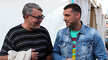 OnAir.ru - Медяник-Куприку - есть, что рассказать друг другу! Концерт звезд Шансона в Лужниках: Сделано с любовью!