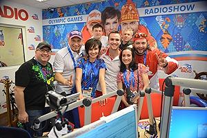 OnAir.ru - Студия «Авторадио» завершила работу на Олимпиаде в Сочи