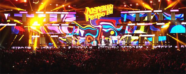В Москве состоялся одиннадцатый Фестиваль «Легенды Ретро FM» - OnAir.ru