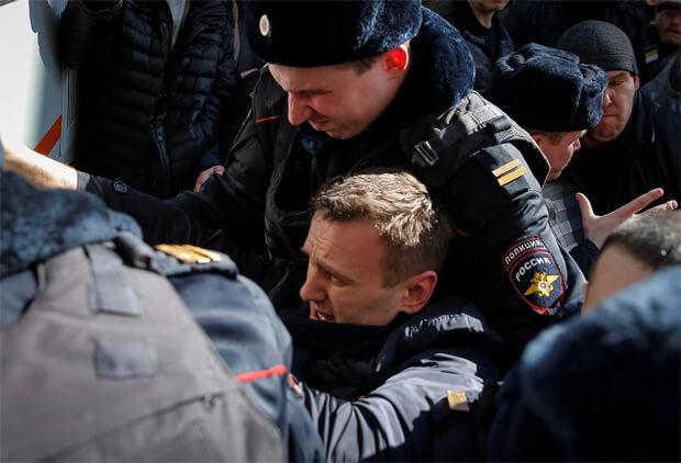 #ДимонОтветит. Митинги 26 марта по всей России - Арест Навального - OnAir.ru