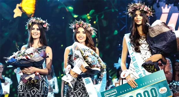Алина Головина получила титул «Мисс Русское Радио» - OnAir.ru