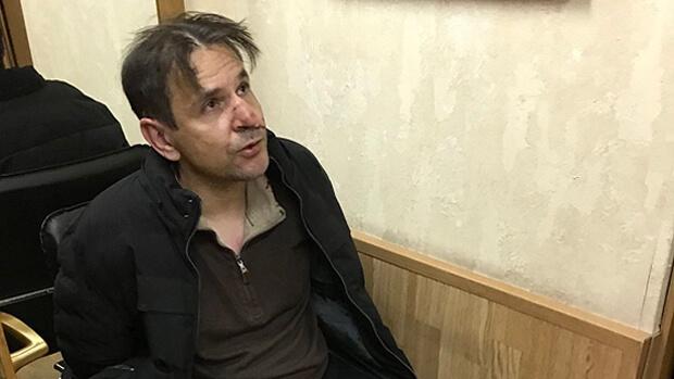 Опубликовано фото пырнувшего в шею журналистку «Эха Москвы» - OnAir.ru