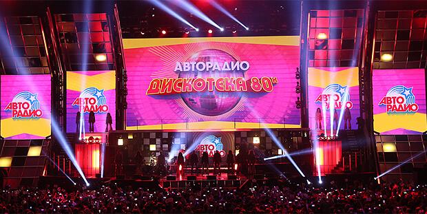 «Дискотека 80-х» в шестнадцатый раз зажгла «Олимпийский» - OnAir.ru