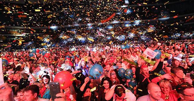 Миллионы россиян встретили Новый год под хиты фестиваля «Авторадио» «Дискотека 80-х» - OnAir.ru
