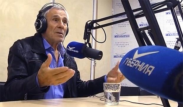 Главный индеец Советского Союза Гойко Митич заглянул в студию Радио «Губерния» в Самаре - Новости радио OnAir.ru