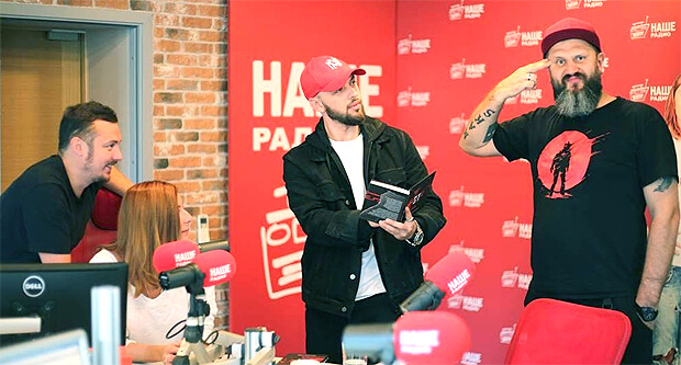 Рэпер ST признался в любви к русскому року в эфире шоу «Подъёмники» - Новости радио OnAir.ru
