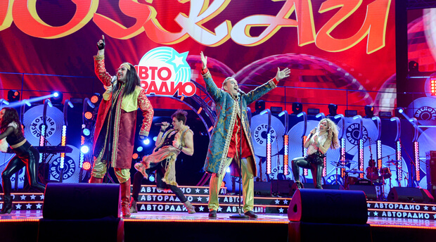 В Москве прошел XVII Международный музыкальный фестиваль «Авторадио» – «Дискотека 80-х» - Новости радио OnAir.ru