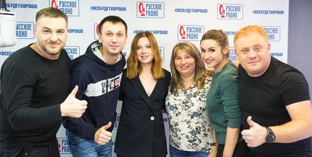 Юлия Савичева стала гостьей утреннего шоу «Русские Перцы» - OnAir.ru