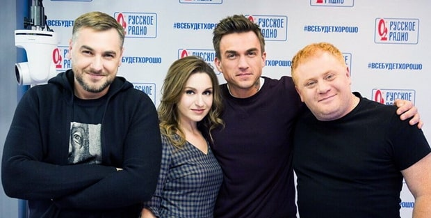 Влад Топалов стал гостем утреннего шоу «Русские Перцы» - OnAir.ru