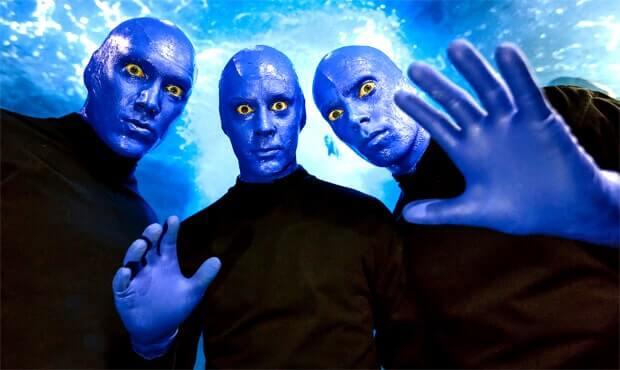 Участники легендарного шоу Blue Man Group в гостях у «Европы Плюс» - OnAir.ru