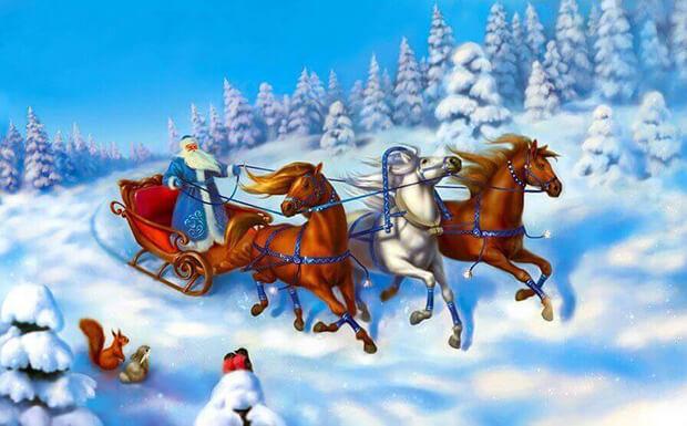 OnAir.ru от всей души поздравляет Вас с Новым годом и Рождеством! - OnAir.ru
