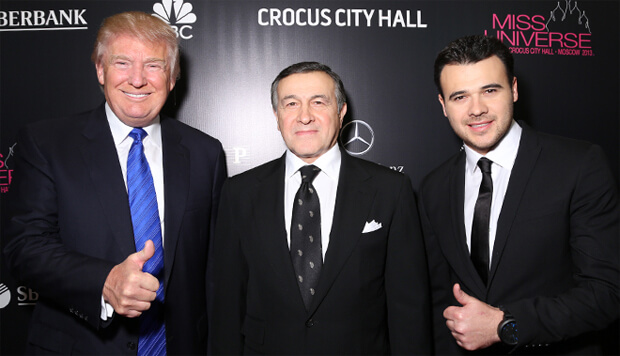 Эмин Агаларов отменил гастроли в США из-за расследования Мюллера - OnAir.ru