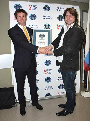 OnAir.ru - «Русское Радио» установило мировой рекорд Гиннесса!